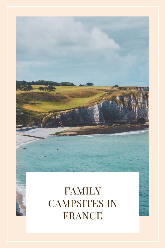 Family campsites in France