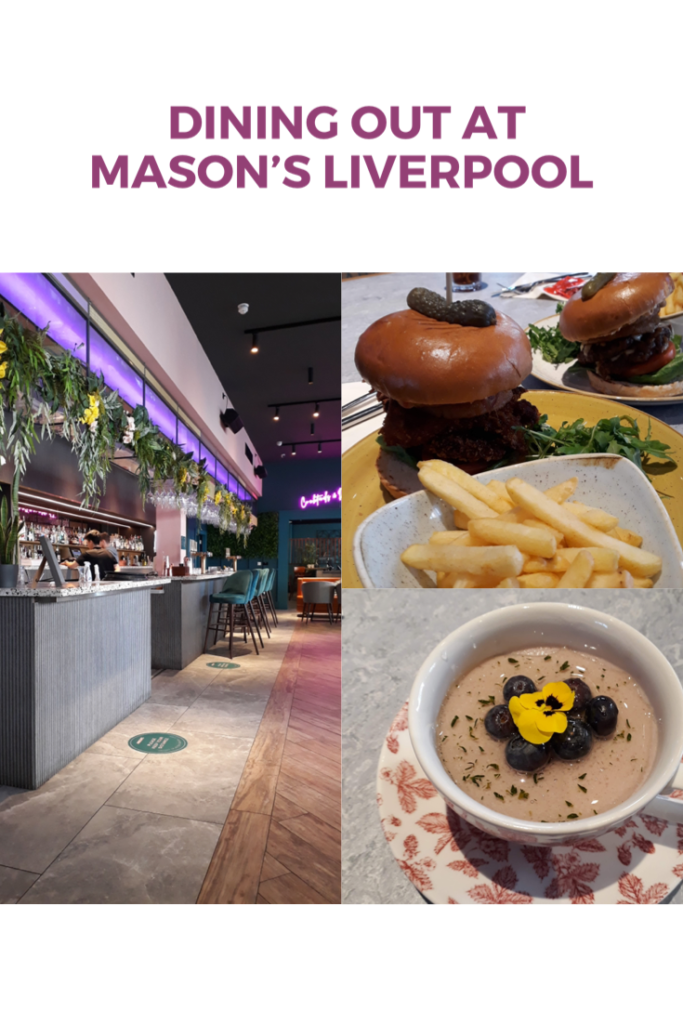 Dining out at Mason's Liverpool