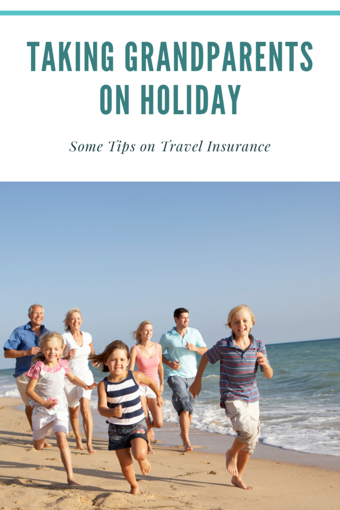 Taking Grandparents on holiday can be great for them, the children and you but you need to consider travel insurance for older people