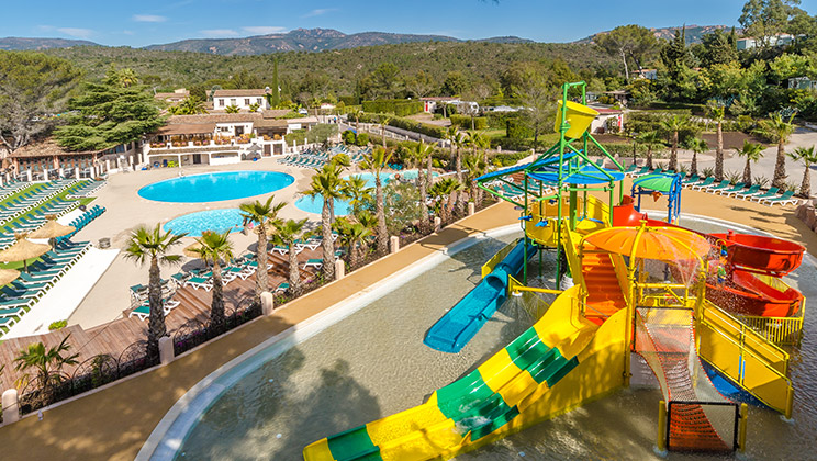 French Riviera holiday park