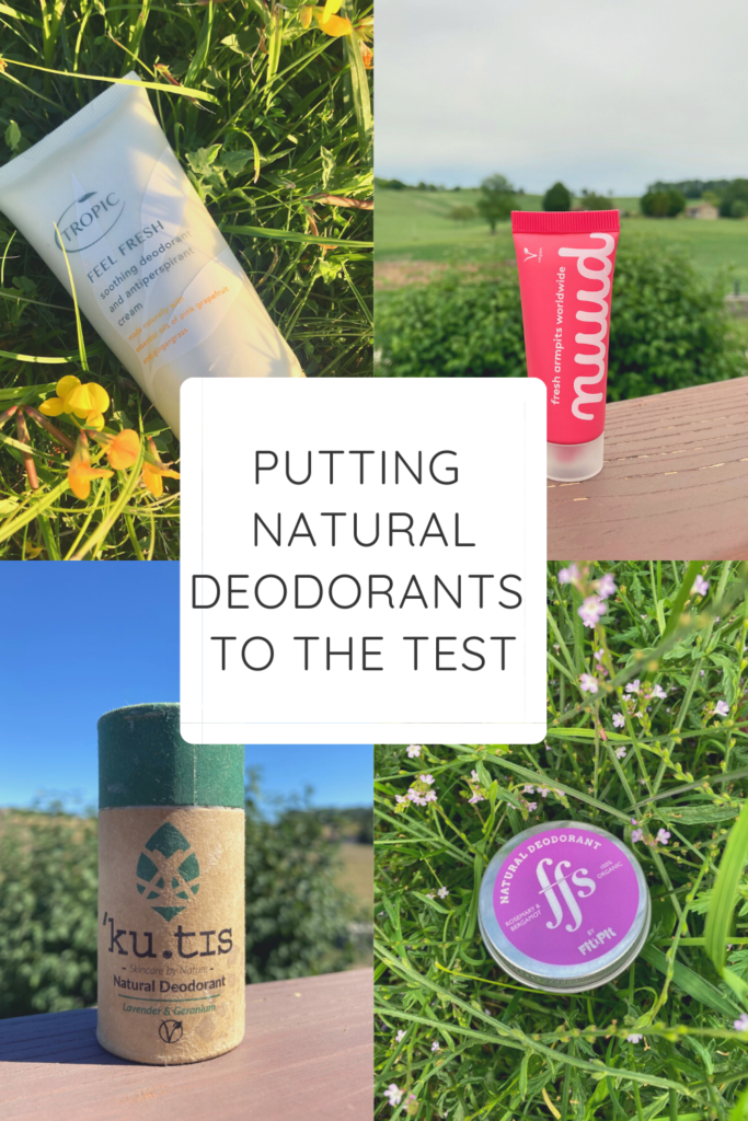 On my quest for a more eco-friendly lifestyle, I've started using a natural deodorant. Read my review of Nuud, Kutis, Fit Pit and Tropic