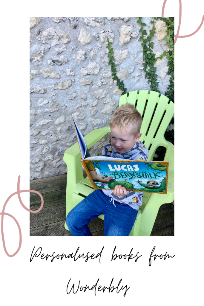 Personalised books from Wonderbly