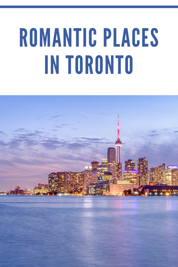 Romantic places in Toronto. Toronto boasts some great date spots that swoon you and your loved one. From historic districts to parks, the city has several scenic spots.