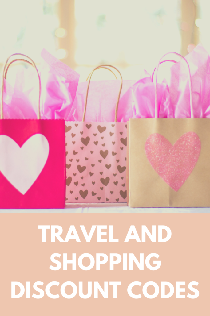 Travel and shopping discount codes
