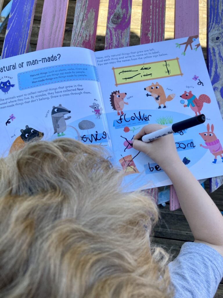 how to grow plants activity book