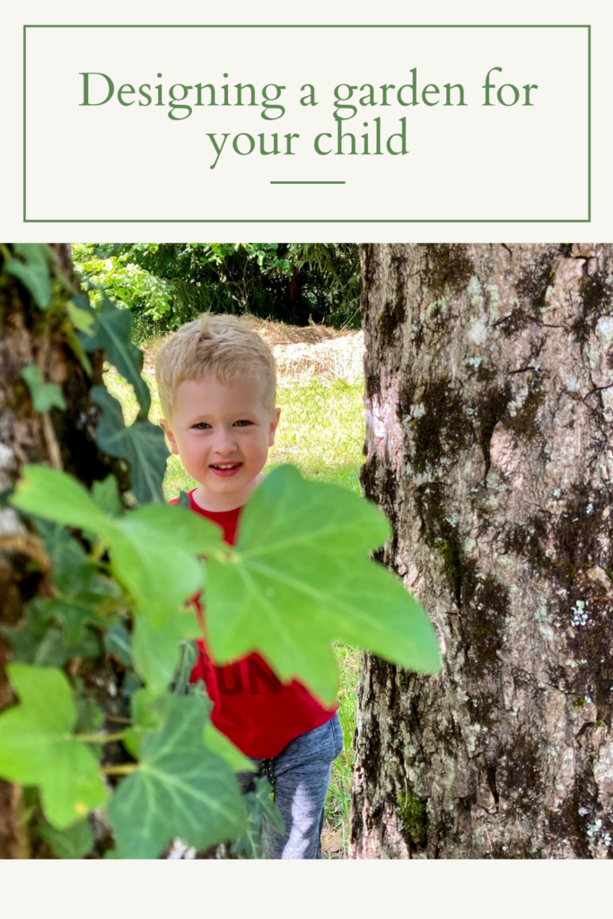 creating a garden for your child