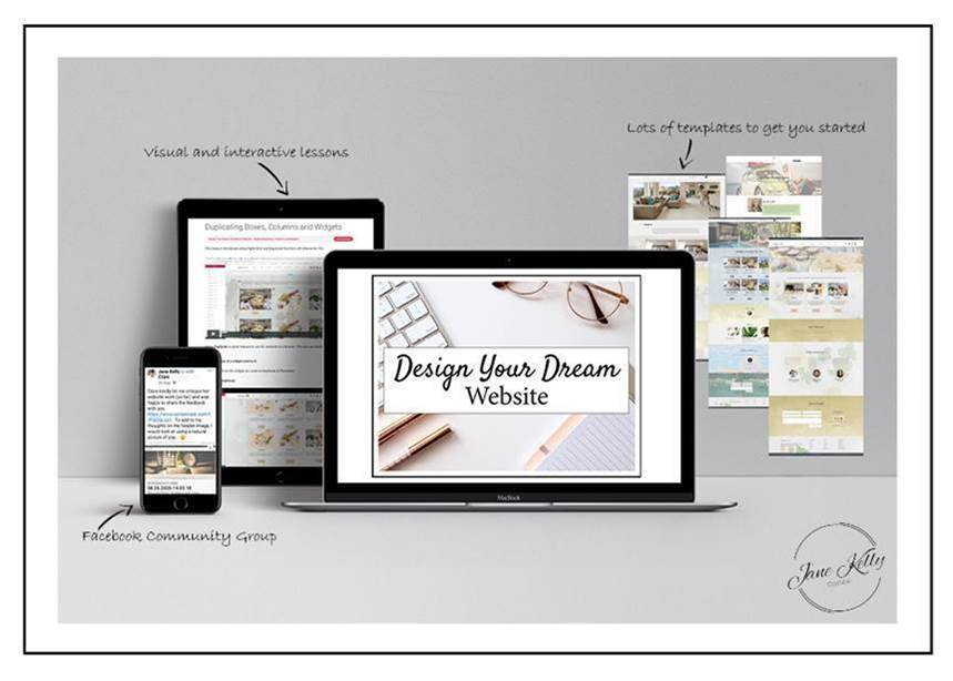 Jane kelly build your own website design