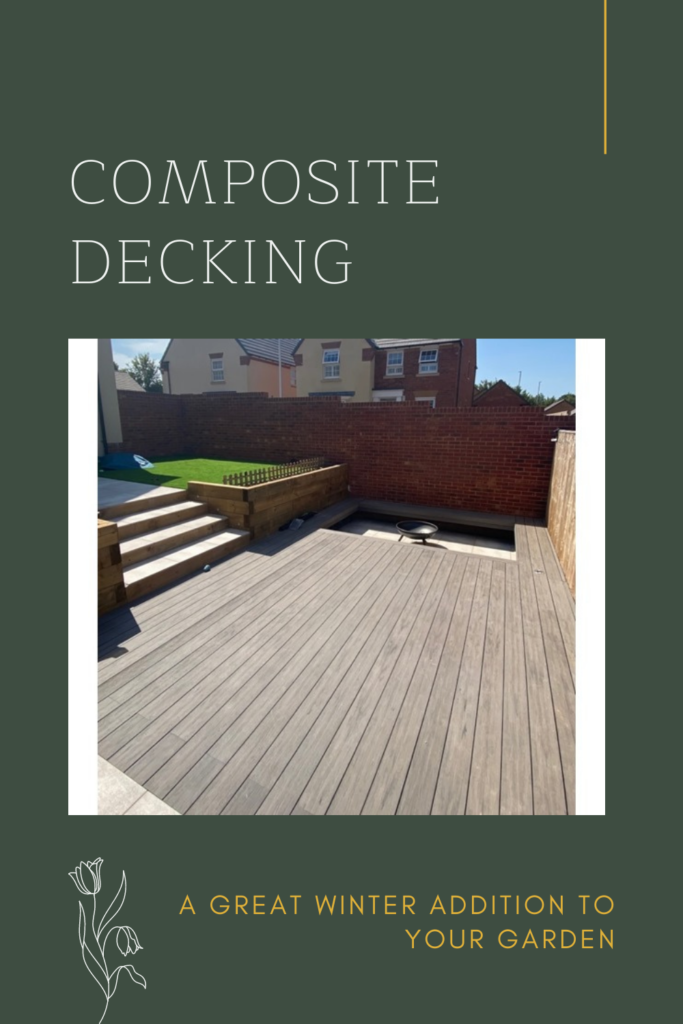 Composite Decking: A Great Winter Addition to Your Garden. Composite decking is offers much more grip than traditional timber deck boards.