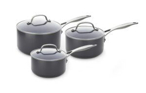 GREENPAN Venice Pro 3-piece saucepan set