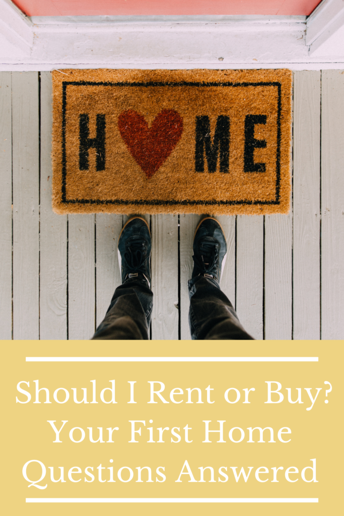 Should I Rent or Buy? Your First Home Questions Answered. Find out more about whether buying or renting your first home is the right option