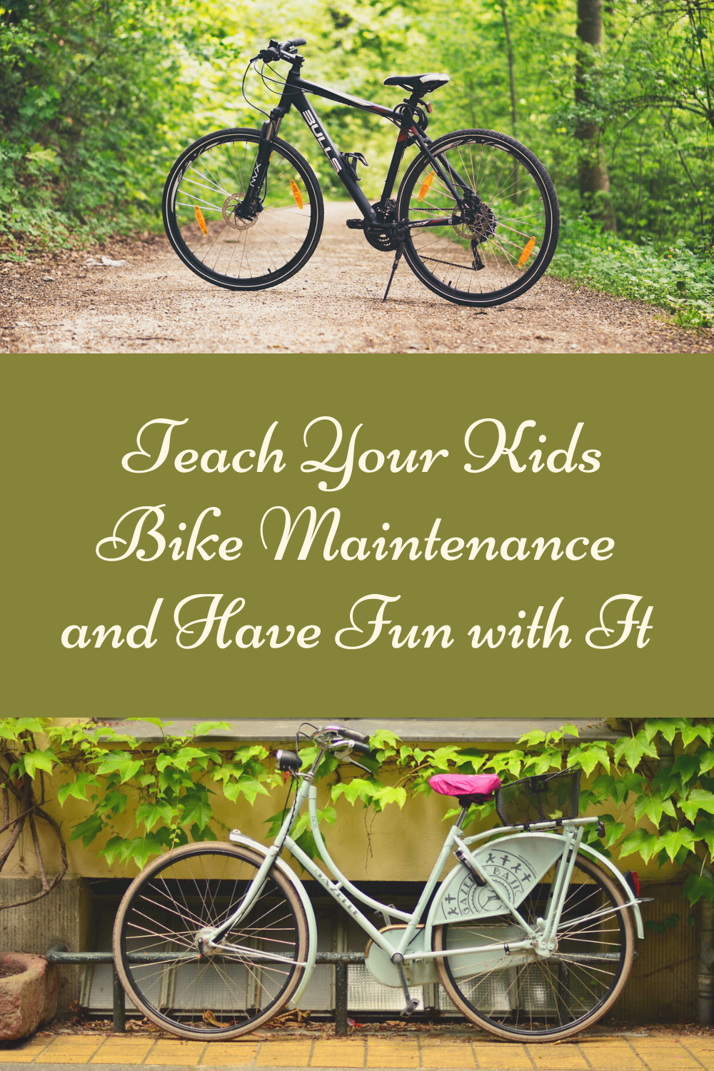 Teach Your Kids Bike Maintenance and Have Fun with It. It's important to keep your child educated about maintaining their bike