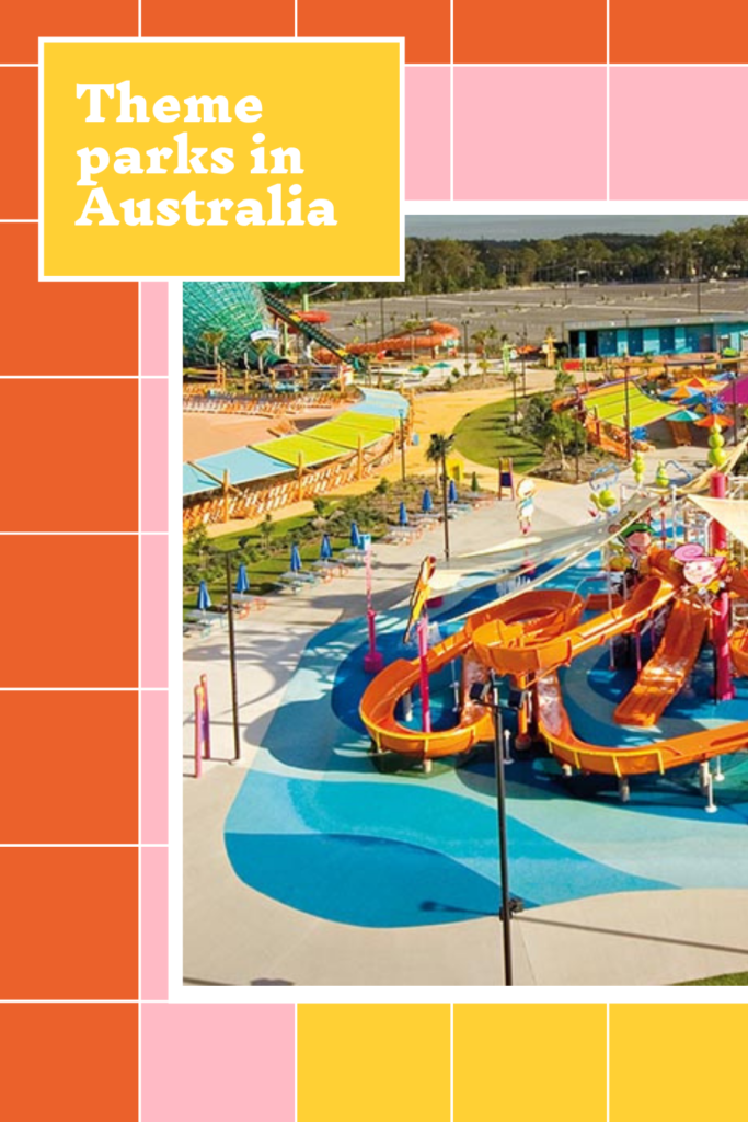 Theme parks to visit in Australia from water parks to lego land, thrilling rides and art deco plus cheap tickets for Australian theme parks