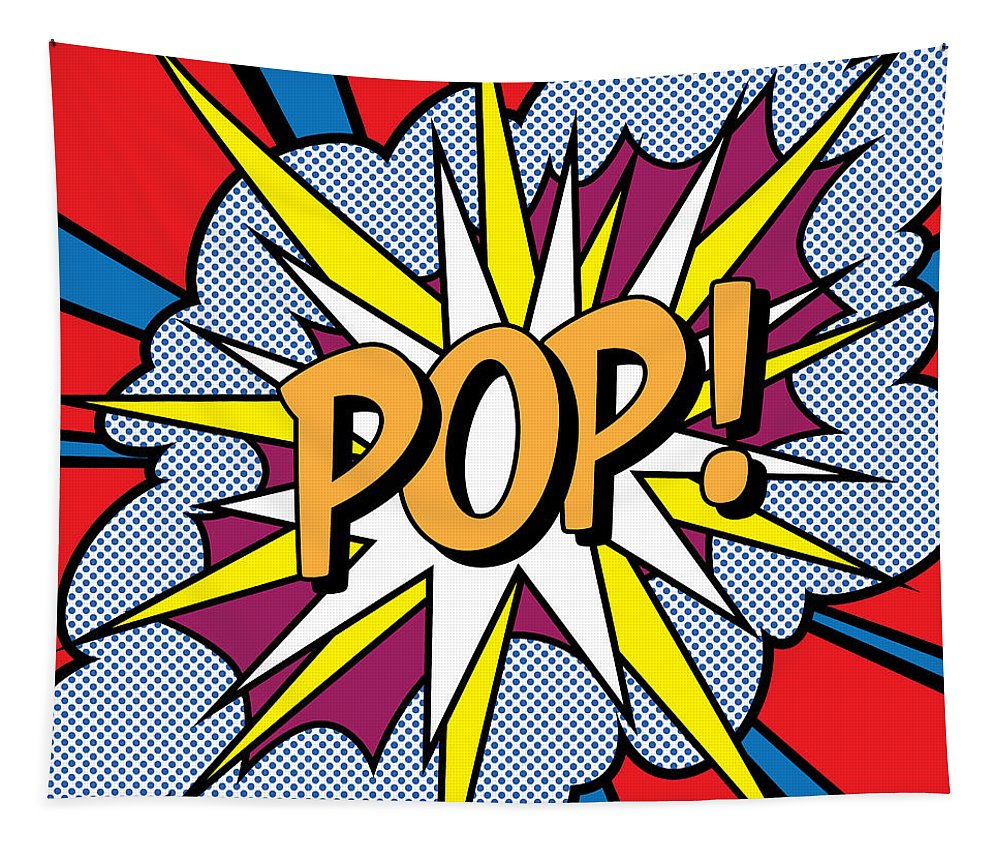 pop art tapestry
