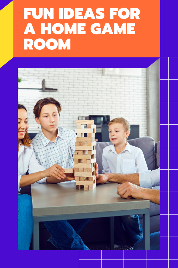 Fun Ideas for a Home Game Room. If you have enough space you should have a room you can relax, have fun, and play games.
