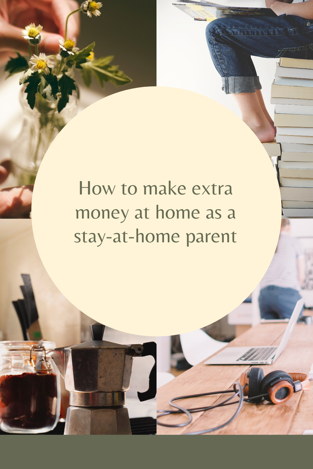 How to make extra money at home as a stay-at-home parent. I've put together some ways to make extra money from the comfort of your home.