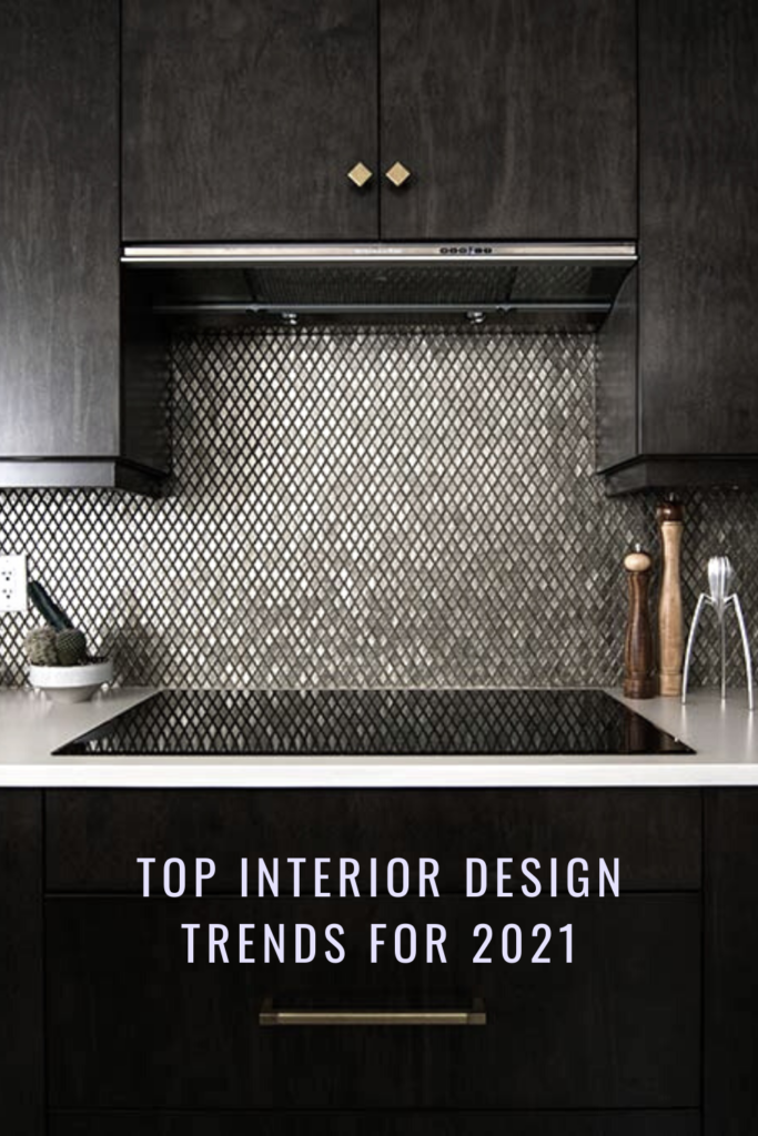 Top interior design trends for 2021. Easily refresh you home decor with some updated accessories and touches