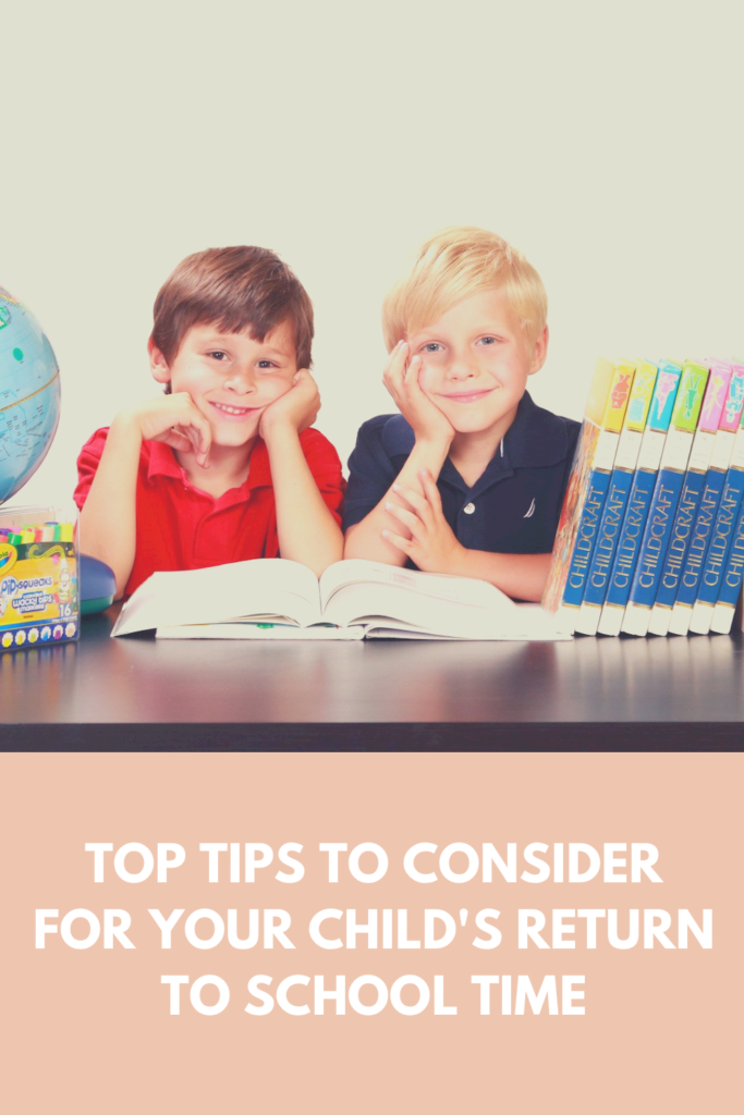 Top tips to consider for your child's return to school time. Ease your child into school time after such a long hiatus.
