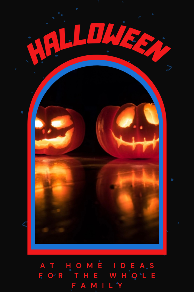At-Home Halloween Ideas for the Whole Family. Halloween movies are the best and dressing up in your favourite costumes plus endless candy