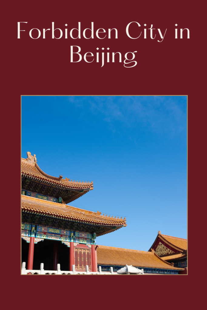 Forbidden City in Beijing. The Forbidden City is apalacecomplex inDongcheng District,Beijing,China, at the centre of the Imperial City