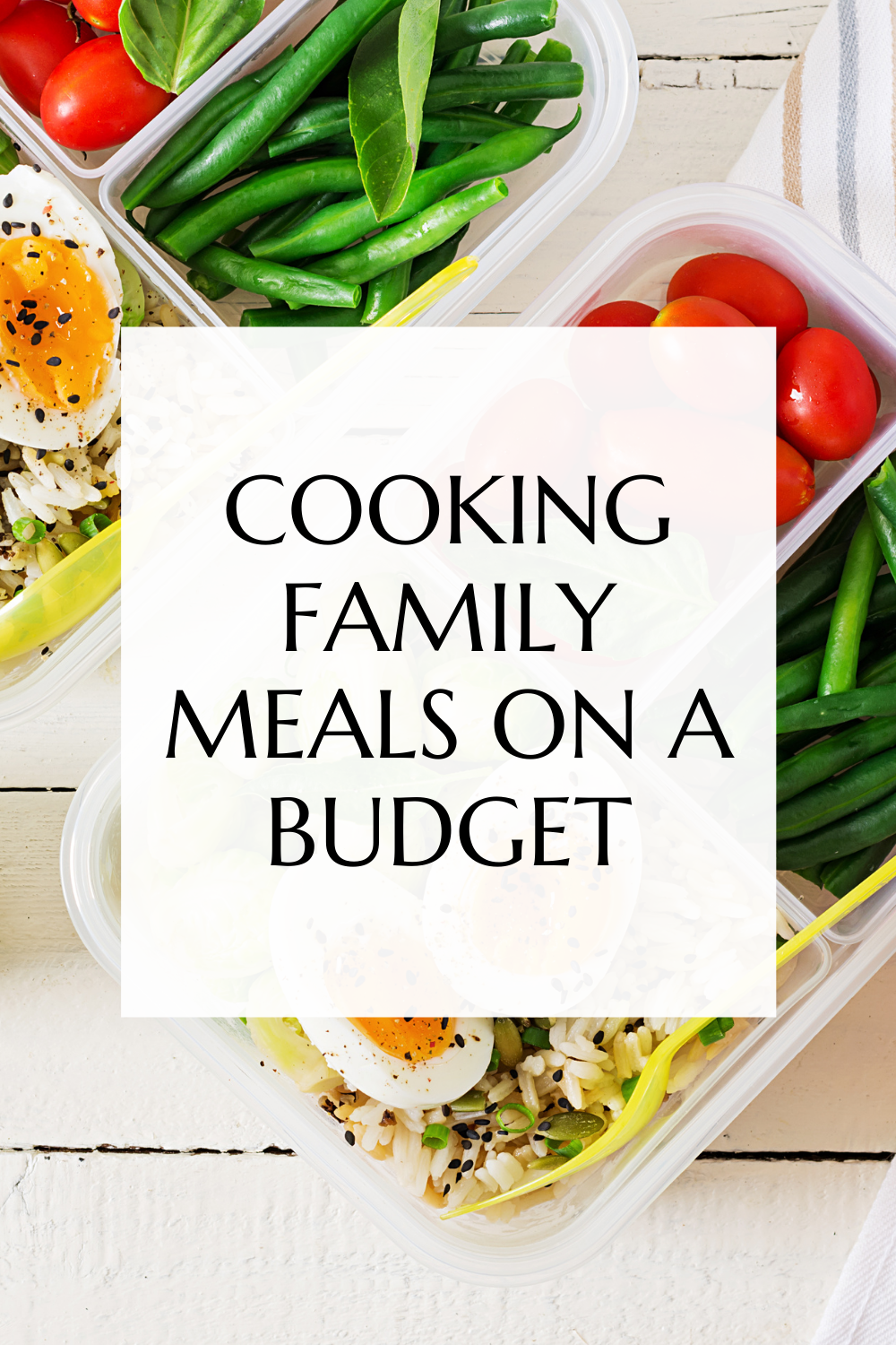 Cooking family meals on a budget will instil several good habits in your children that will stay with them throughout their life.
