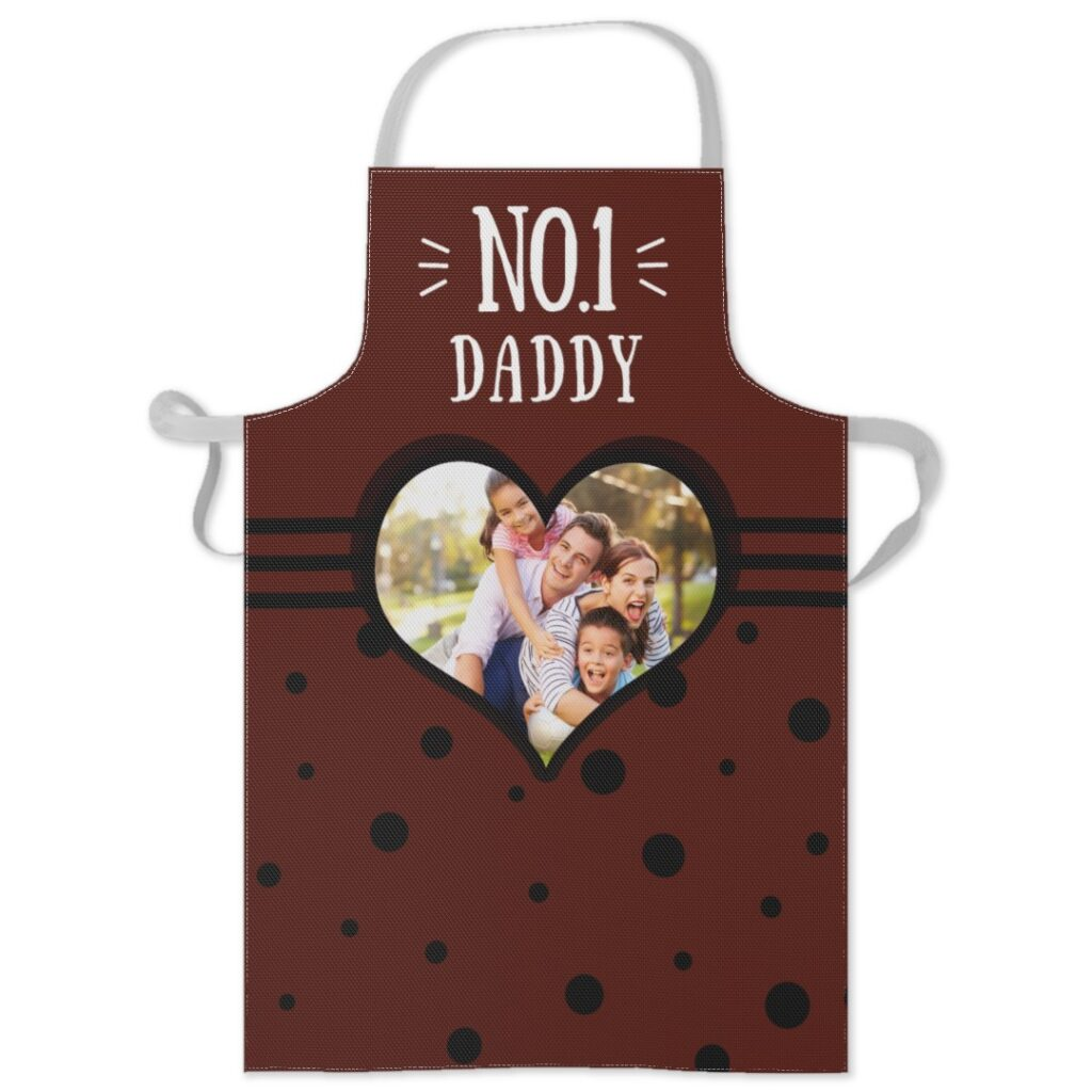 number one daddy apron