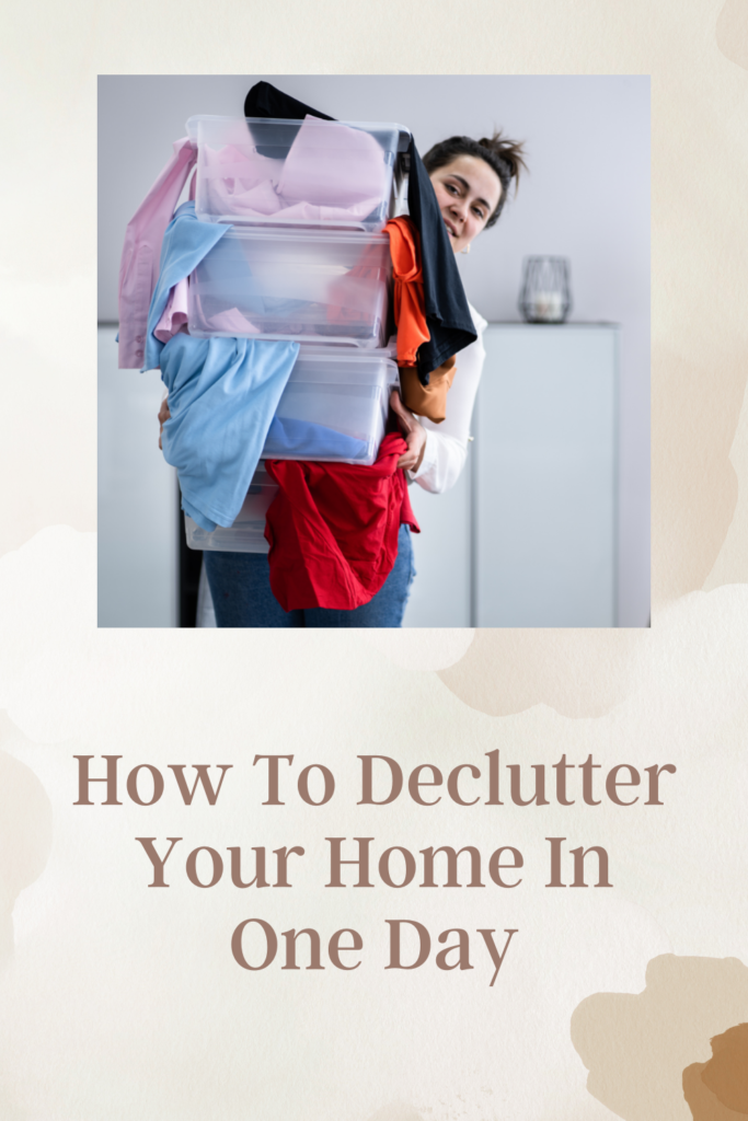 How To Declutter Your Home In One Day. Decluttering your home has plenty of benefits, it can invite relaxation as you'll no longer have mess.