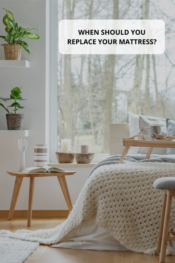 When should you replace your mattress? Mattresses should be replaced every 6 to 8 years dependant on various factors. Read more to find out